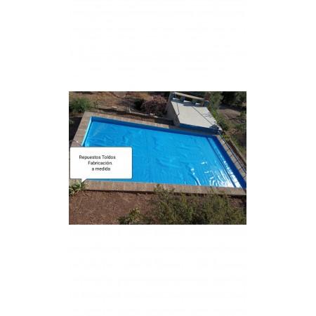 Cobertor /Manta termica a medida Burbujas azules 450 micras