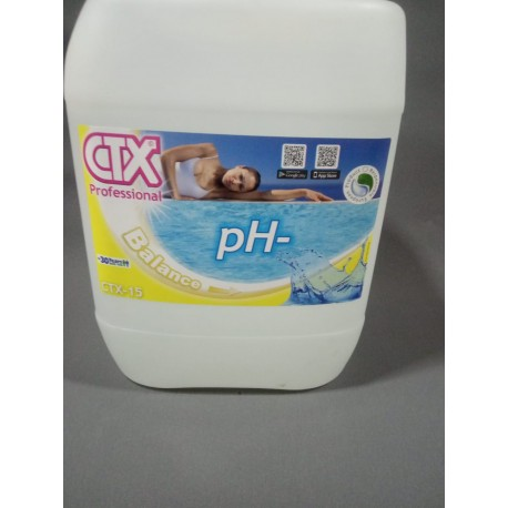 CORRECTOR DE PH- CTX-15