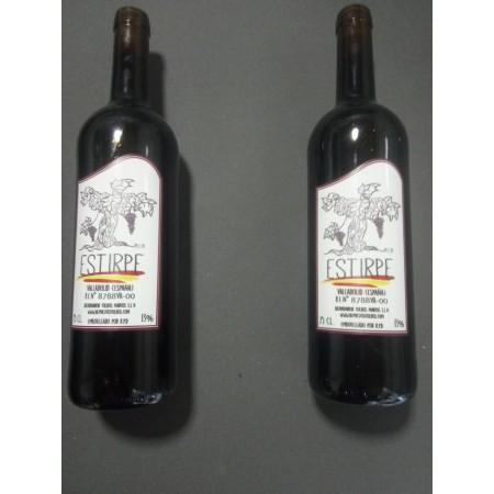 Vino D.o Valladolid Tinto Caja 12 botellas