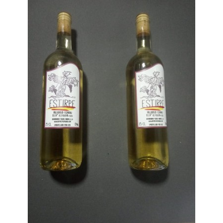 Vino D.o Valladolid Blanco Caja 12 botellas